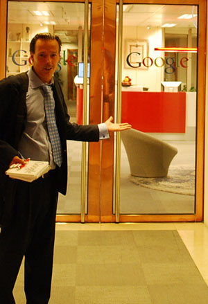 Papa Google y Jaime Jalon